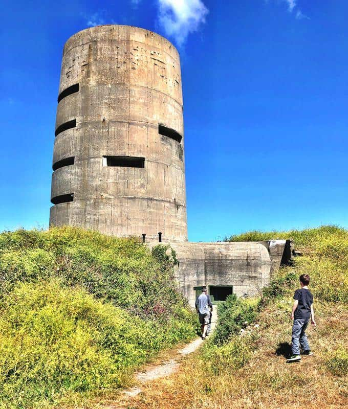 a bunker on guernsey