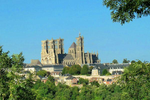 city of laon, france