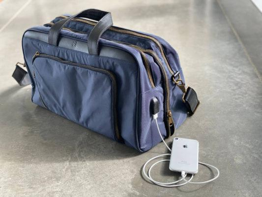 carry on bag with charger
