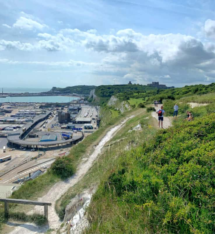 trails above dover