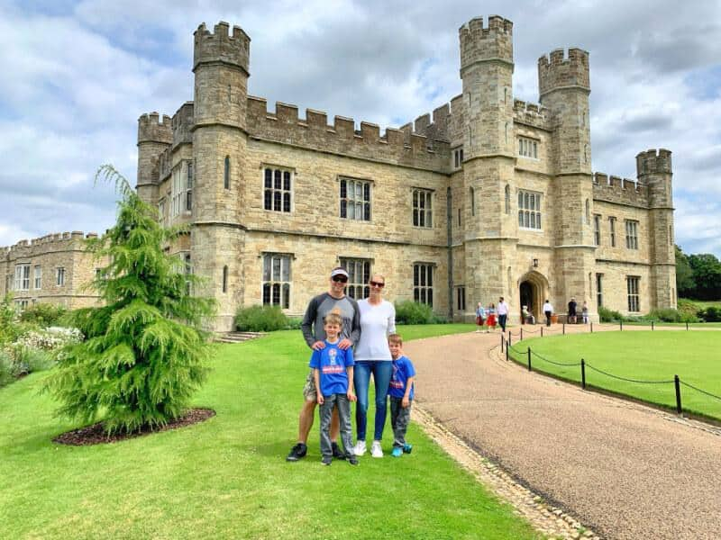family at leeds castle