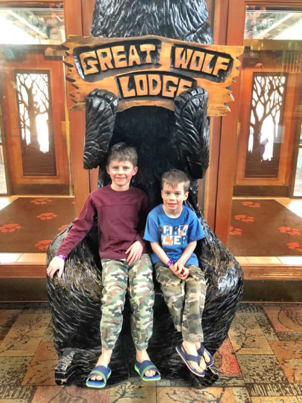 boys at great wolf lodge