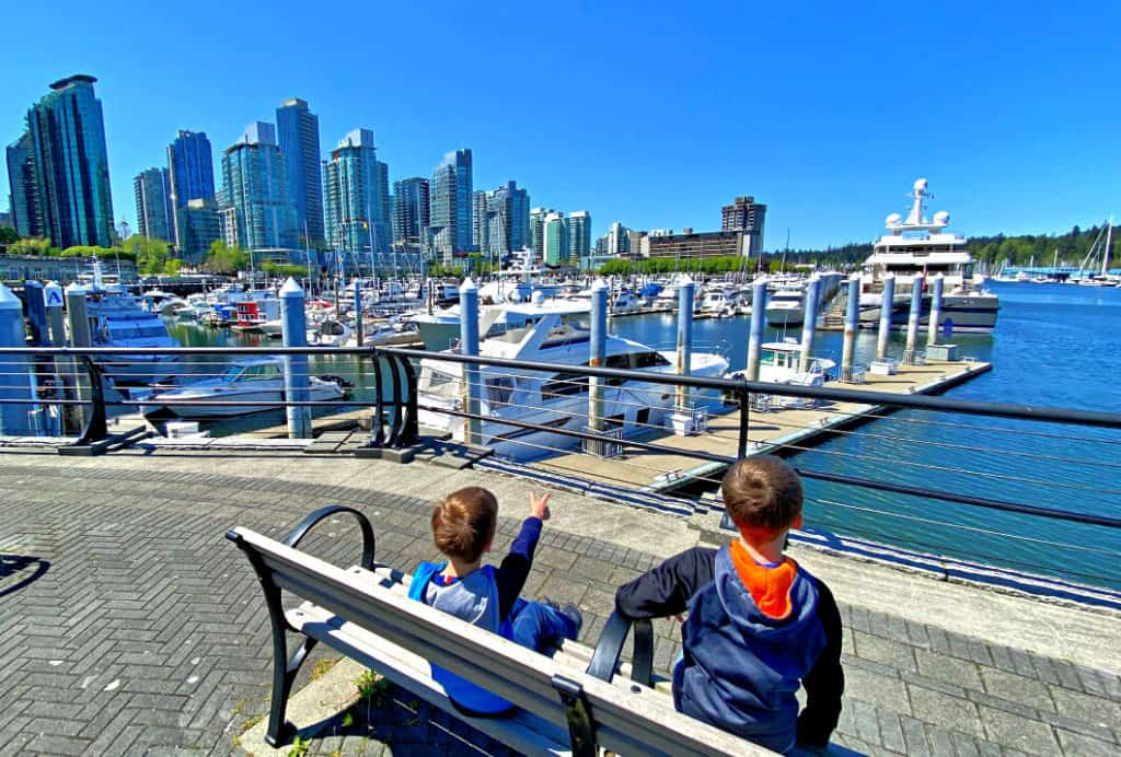 Tesla road trip to Vancouver with kids