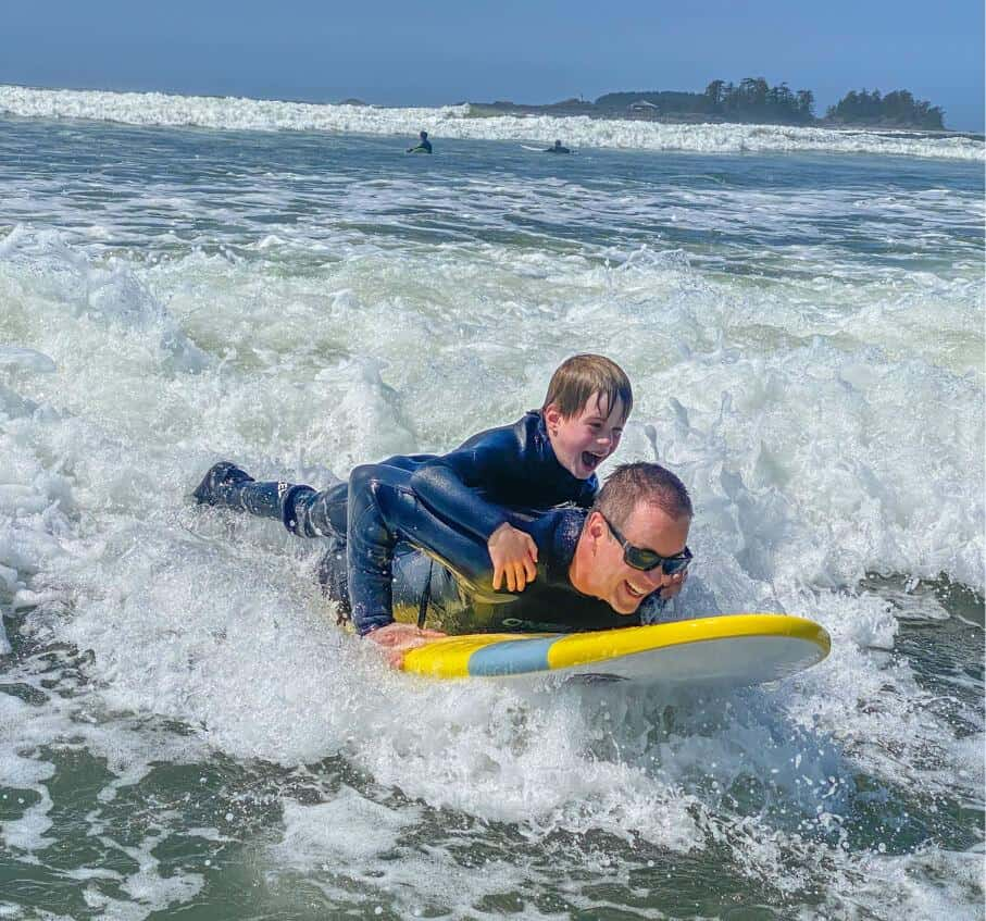 best things to do in Tofino are surfing