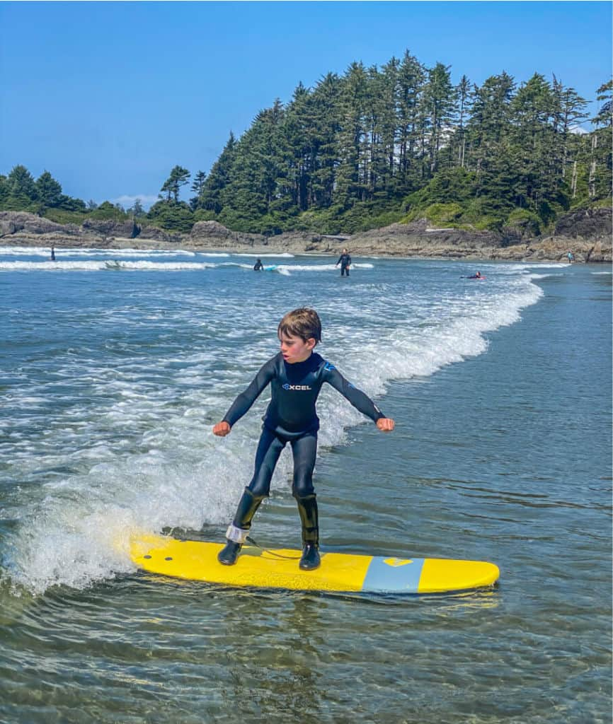 learning to surf in tofino