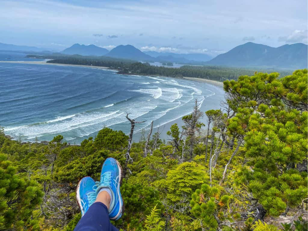 cox bay lookout in tofino