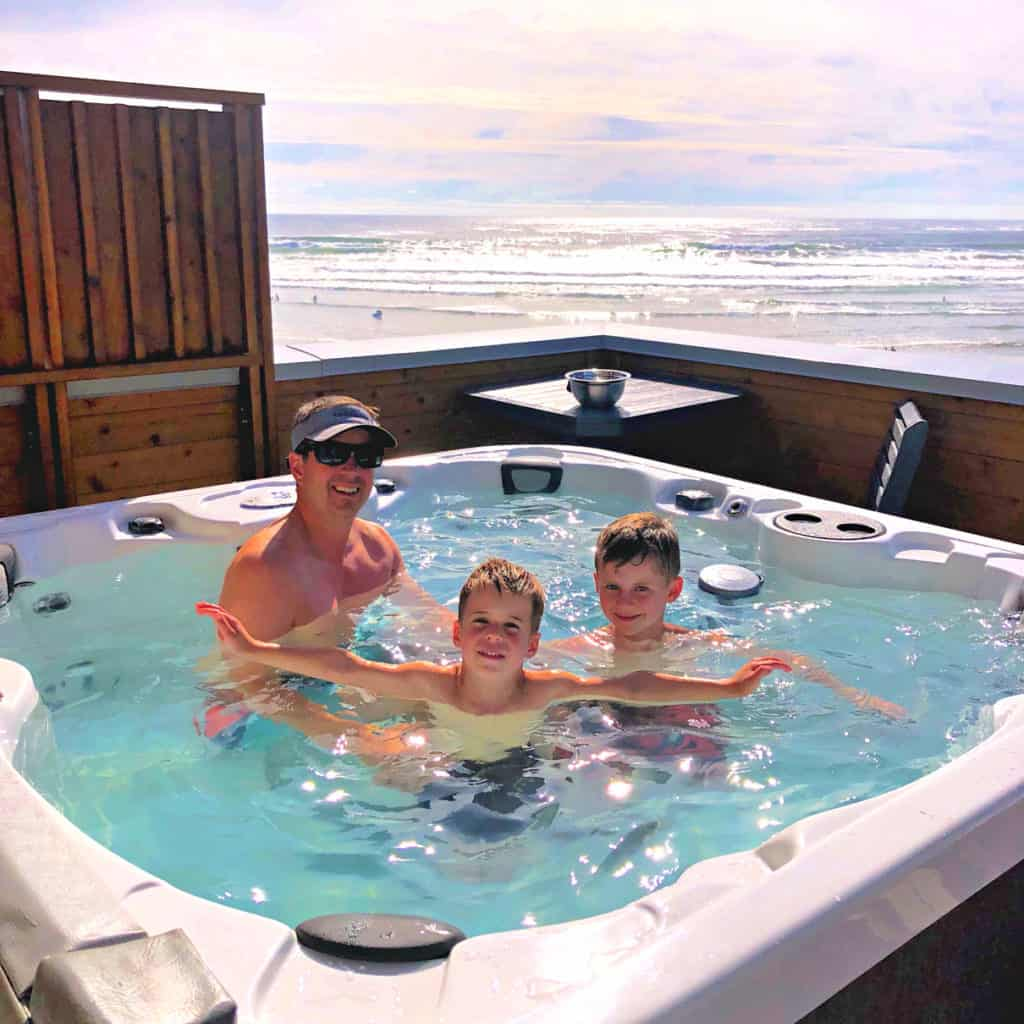 Tofino vacation with kids