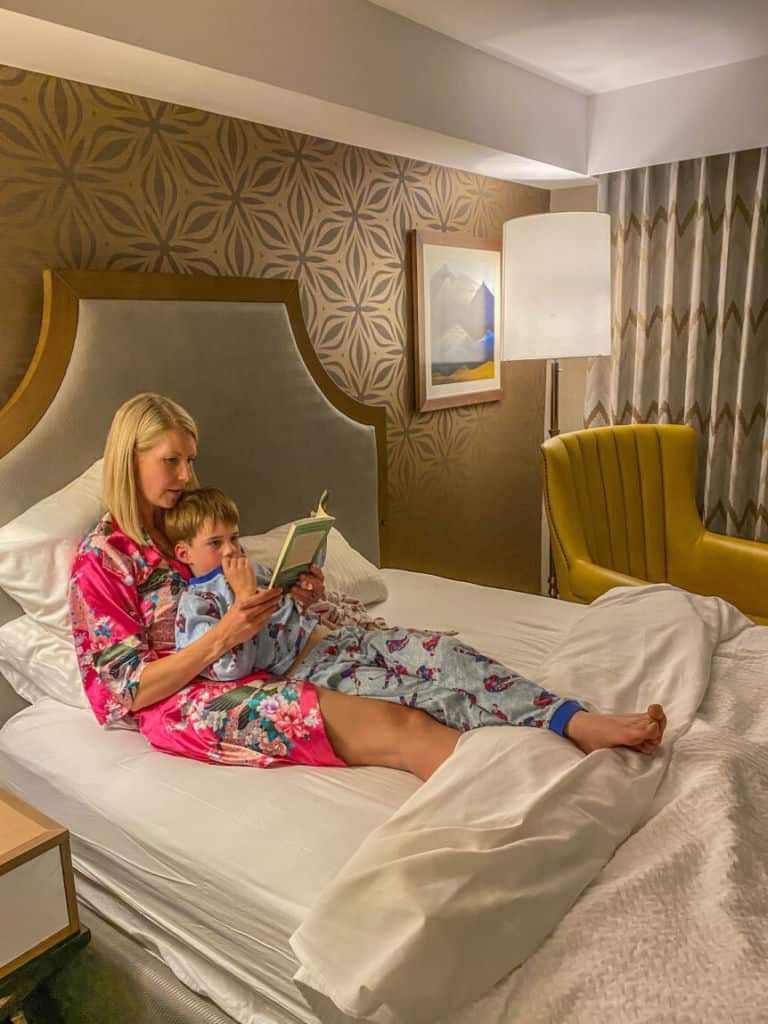 Bedtime stories at the Sun Peaks Grand Hotel