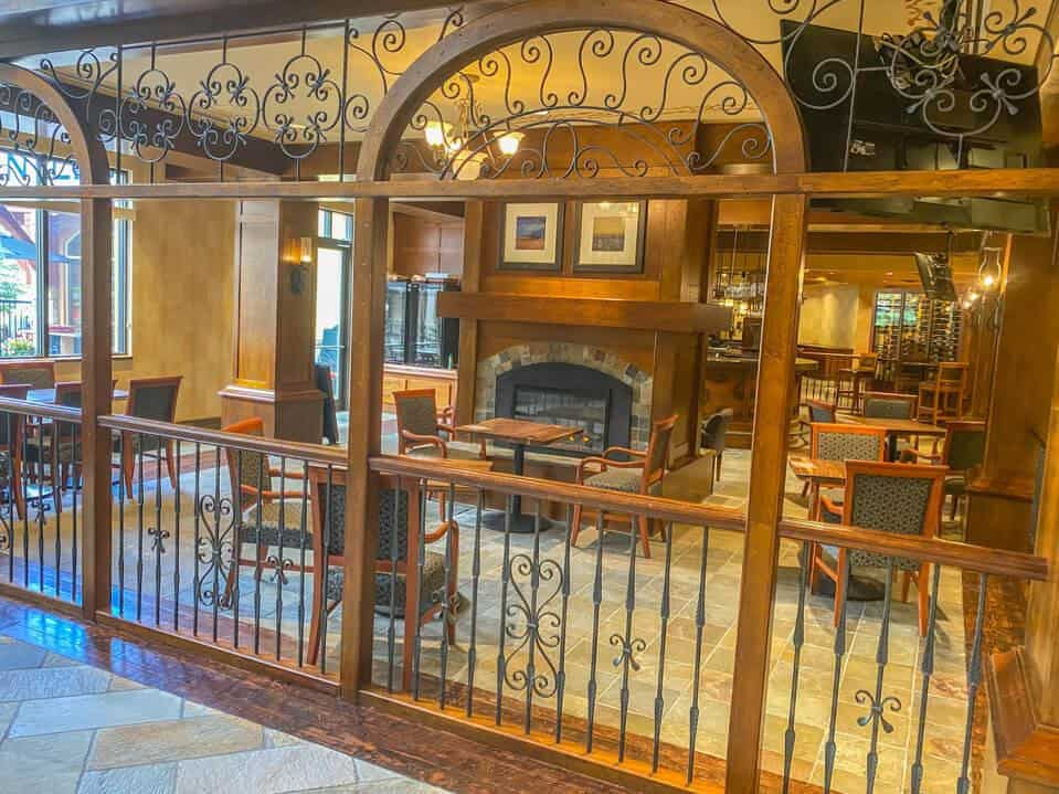 Mantles lounges at Sun Peaks grand hotel