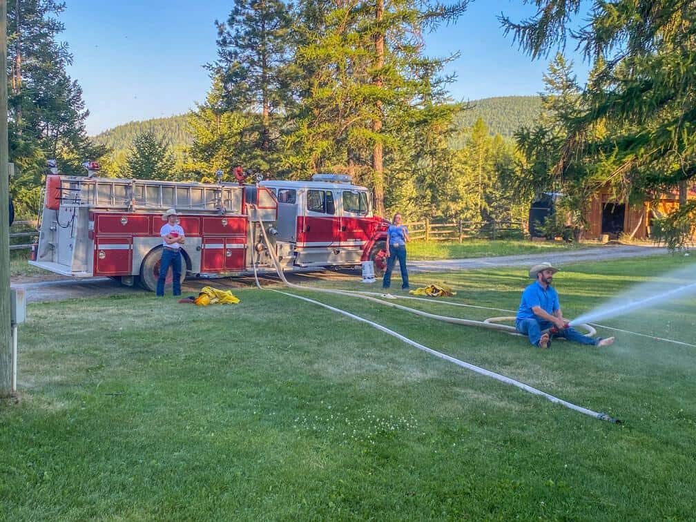 fire engine games at three bars guest ranch