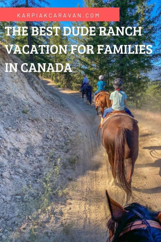 best dude ranch vacation in canada