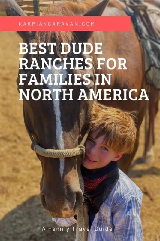 best dude ranches for families