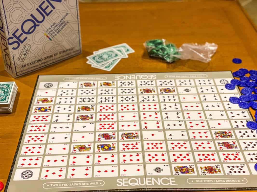 board game called sequence