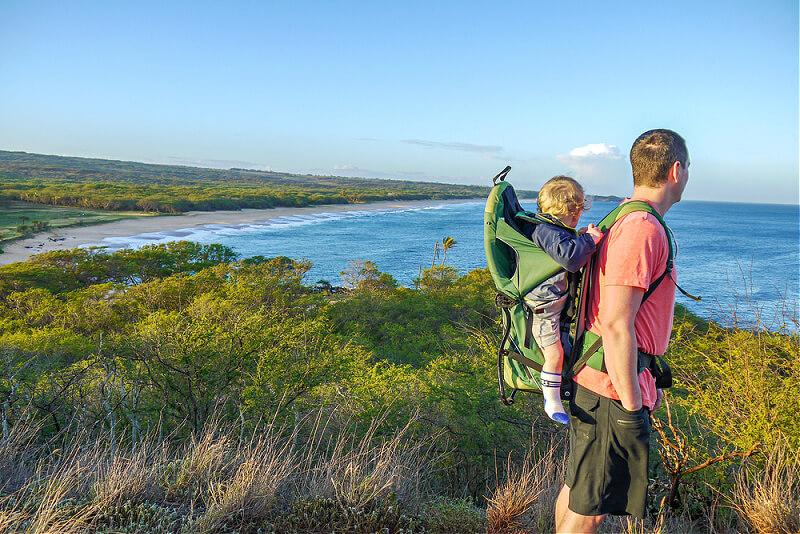 man and son - things to do on molokai